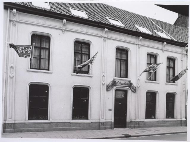 026831 - Antiekhandel Het Nieuwland aan de Nieuwlandstraat halverwege 1980