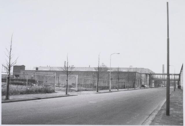 018356 - Textielindustrie. Gedeelte van de gebouwen van AaBe Wollenstoffen- en Wollendekenfabrieken aan de Fatimastraat.