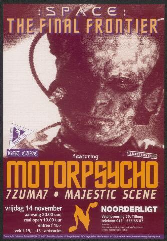 650343 - Noorderligt. Space, the final frontier: Motorpsycho/ 7Zuma7 / Majestic Scene