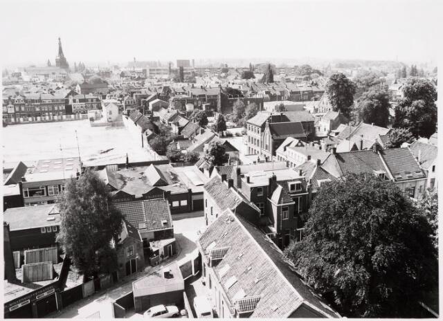 036640 - Panorama van Tilburg vanaf de flat aan de Spoorlaan 392