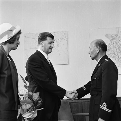 072682 - Jan van Erven neemt afscheid als commandant van de Vrijwillige brandweer in Goirle.
