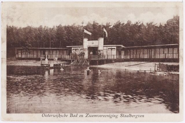 057670 - Vennenlaan. Het Oisterwijksche Bad en Zwemvereeniging Staalbergven