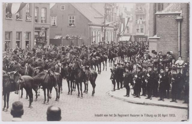 053557 - Intocht van tweede regiment Huzaren