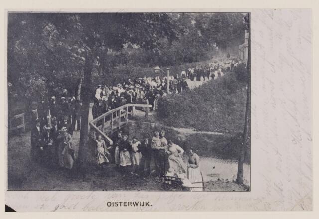 078730 - 1902.  Processie vermoedelijk in de tuin van Catharinaberg