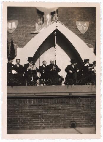 005303 - Zilveren priesterfeest in 1939 van Wilhelmus Petrus Adrianus Maria Mutsaerts, geboren Tilburg 18 juni 1889, overleden 's-Hertogenbosch 16 augustus 1964, begraven aldaar 20 augustus 1964 in de Theresiakerk Tilburg.