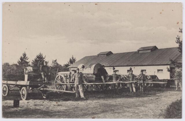 053626 - Eerste wereldoorlog 1914-1918. Verpleging en Rode Kruis.Legerkamp tussen Tilburg en Loon op Zand van het 9e regiment Infanterie