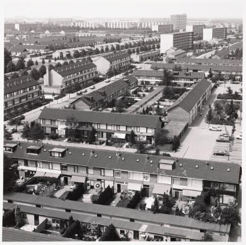 036336 - Panorama van Tilburg vanaf de flat aan de Griegstraat.