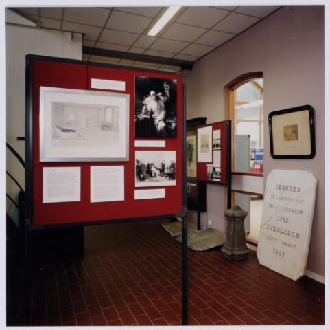 049238 - Tentoonstelling van Willem II t.g.v. zijn 150e sterfdag in 1999. Regionaal archief Tilburg, Kazernehof 75