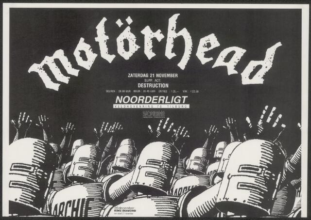 650233 - Noorderligt. Motorhead. Support act:  Destruction