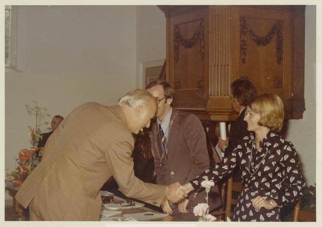 89089 - Installatie van de nieuwe burgemeester van Terheijden: dhr. J. van Maasakkers