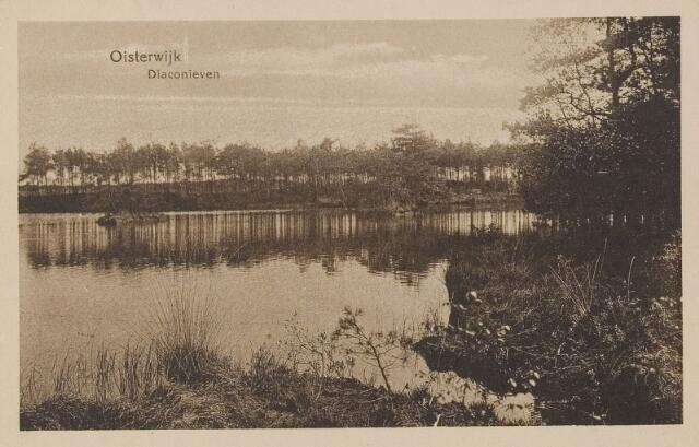 075146 - Serie ansichten over de Oisterwijkse Vennen.  Ven: Diaconieven.