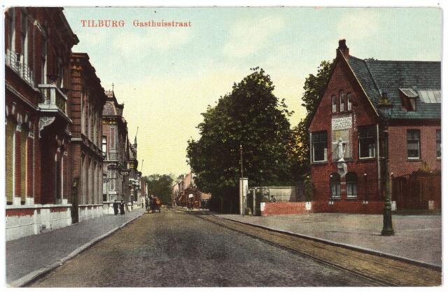 000462 - Gasthuisstraat, rechts het atelier voor kerkelijke kunst van J.A. Verbunt