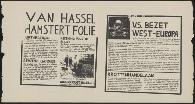 668_1983_132 - Muurkrant: Van Hassel Hamstert Folie