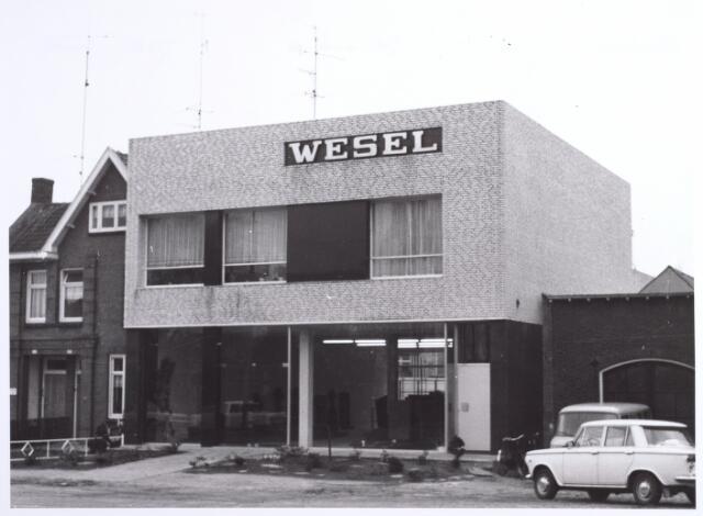 015946 - Winkelpand van de firma Wesel, een groothandel in graniet en grafmonumenten, aan de Bosscheweg 240