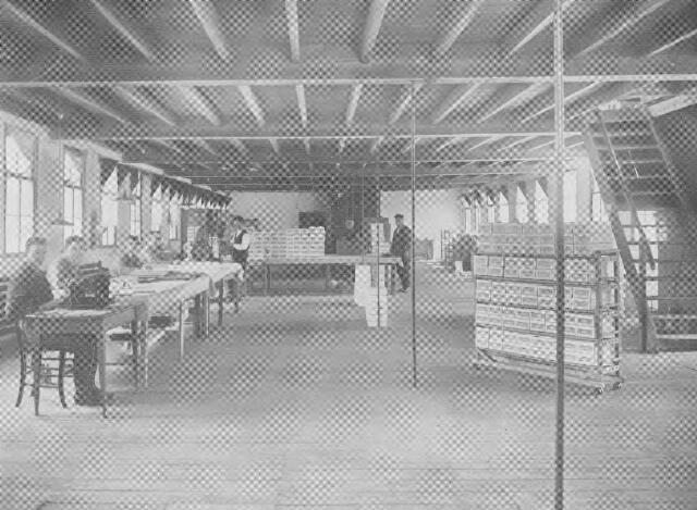 064375 - Leder- en schoenindustrie.  N.V. Stoomschoenfabriek J.A. Ligtenberg te Dongen. Expeditie.