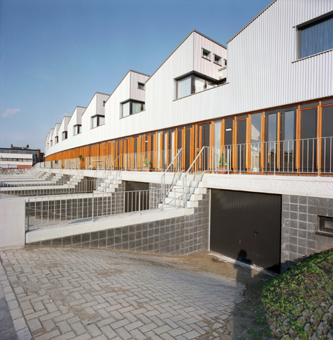 D-00538 - BNA - Atelierwoningen aan Mr. J.H. de Pontplein (Neutelings Riedijk Architects, 1996)