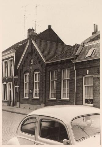 024389 - Protestantse kleuterschool aan de Korte Nieuwstraat eind september 1969