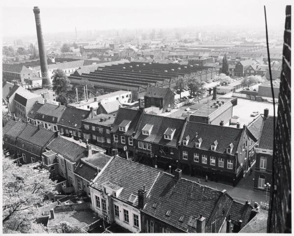 036401 - Panorama van Tilburg vanaf de toren van de Heuvelse kerk;