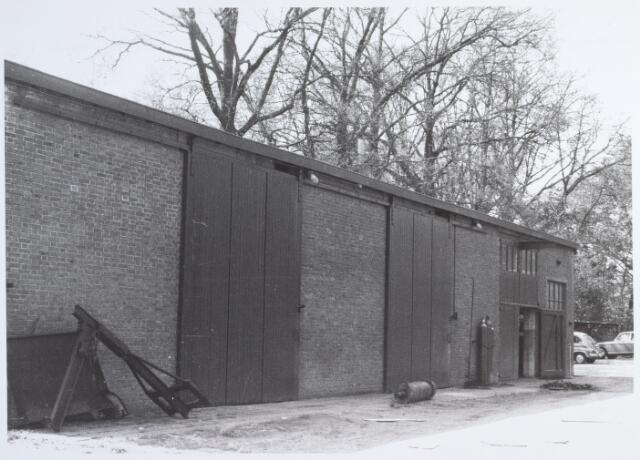 014610 - Werkplaats behorende tot de Tilburgse Wolwasserij aan de Berglandweg