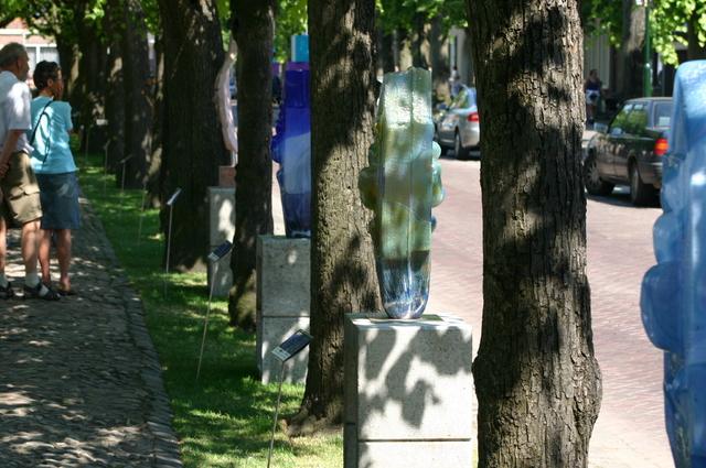 657191 - Kunst. De derde editie van de openluchtexpositie Oisterwijk Sculptuur langs De Lind in 2006.