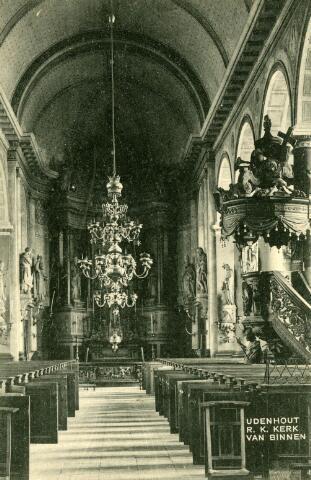 071606 - Interieur r.k. kerk te Udenhout.