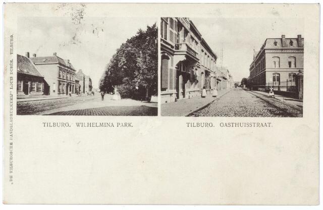 000503 - Gasthuisstraat en Wilhelminapark.