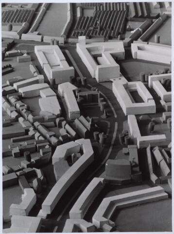 026272 - Gedeelte van de stadsmaquette: doorbraak Bredaseweg-Paleisstraat