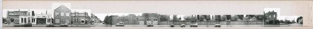 1625_0189 - Fotostrook; straatwand; panden aan de linten en hoofdverbindingswegen in het centrum van de stad; Lancierstraat 1-75; foto's werden tussen 1976 en 1985 gemaakt. (foto gemaakt in periode 1976-1985)