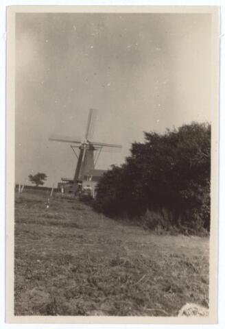 """026641 - Molen """"De Hoop"""", gebouwd in 1856, hier gefotografeerd in september 1929"""