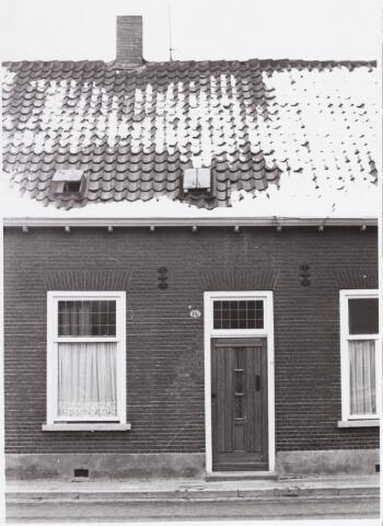 034455 - Lijnsheike 187; thans heet dit deel van de straat Von Weberstraat. De meeste huizen aan het Lijnsheike zijn inmiddels gesloopt.