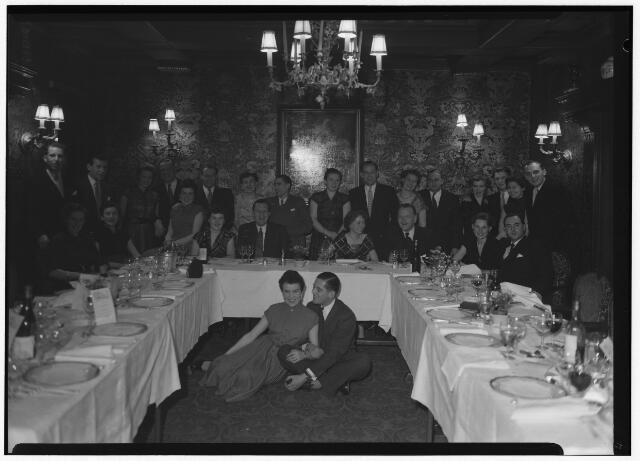 050847 - Diner Chalet Royal. Bijeenkomst jonge werkgevers afd. Tilburg.
