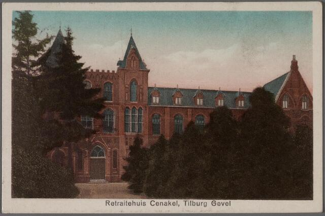011300 - Koningshoeven, nu Kempenbaan. Retraitehuis en klooster van O.L.V. van het Cenakel, voorgevel.