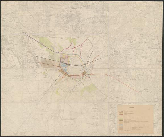 652510 - Gemeente Tilburg. Stadsuitbreiding. Hoofdverkeersewegen en grondslagen voor ontwerp uitbreidingsplan.