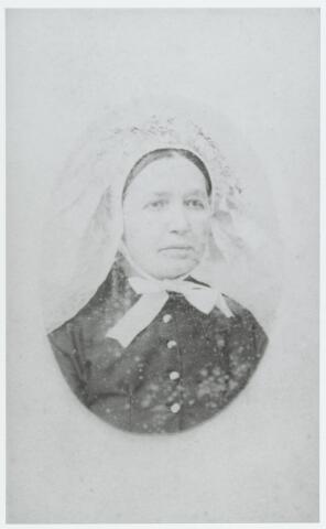 056169 - Anna Maria van Croonenburg, geboren te Goirle op 23 september 1837 en aldaar overleden op 7 juli 1912. Zij trouwde met Cornelis Rens.