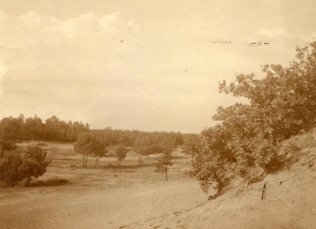 600756 - Landschap in de omgeving van Loon op Zand. Duinen en bossen.Kasteel Loon op Zand. Families Verheyen, Kolfschoten en Van Stratum