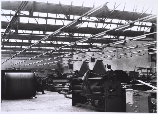 023833 - Textiel. Interieur van de voormalige wollenstoffenfabriek Janssens - De Horion