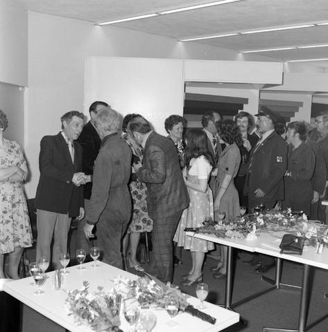 1237_012_987-2_001 - Viering van een jubileum van textiel firma Van Besouw bij restaurant Boschlust in Goirle in mei 1975.