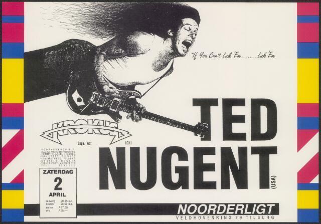 650240 - Noorderligt. Ted Nugent. Support act:  Krokus