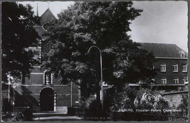 010147 - Kerk en klooster van de kapucijnen aan de Korvelseweg.