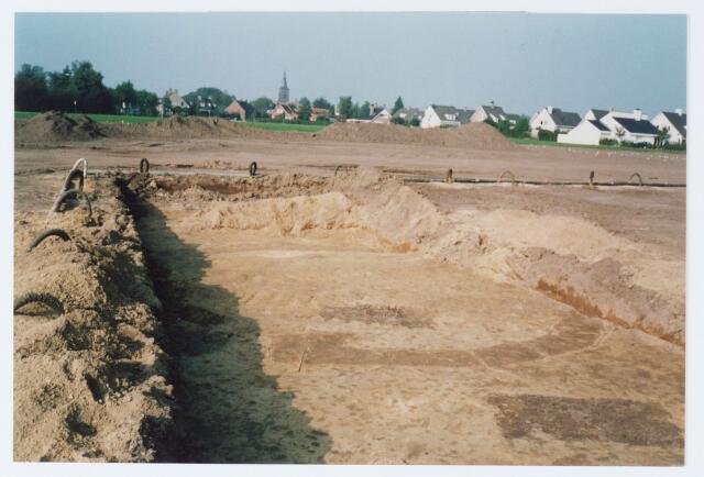 062583 - Kringgreppelgraven in de Egge ontdekt tijdens het bouwrijpmaken van de Berkelse Akkers (opgraving kringgreppelgraf 1)