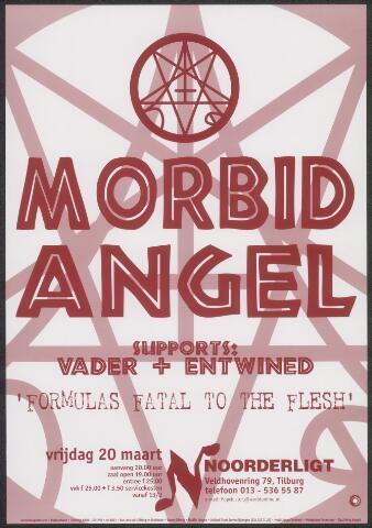 650352 - Noorderligt. Morbid Angel. Support act: Vader / Entwined