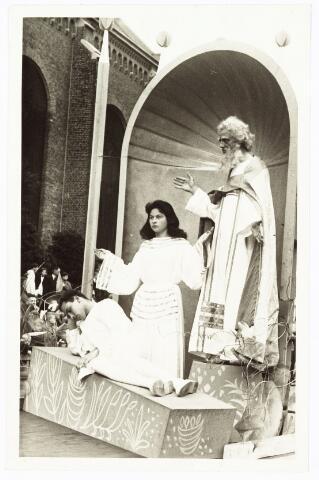 009199 - H. Hartstoet God de Vader met Adam en Eva.