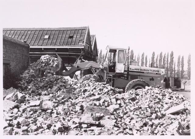 016888 - Sloop van het fabriekscomplex van looierij/wolwasserij Bernard Pessers door de Tilburgse firma Van Hees.