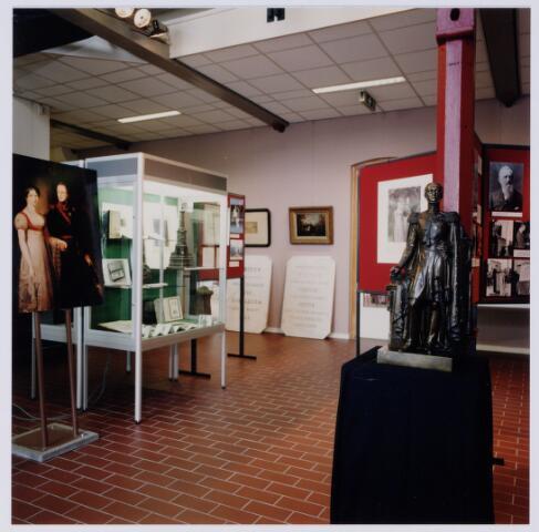 049239 - Tentoonstelling van Willem II t.g.v. zijn 150e sterfdag in 1999. Regionaal archief Tilburg, Kazernehof 75
