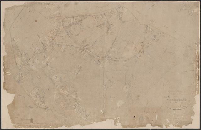 652613 - Kadasterkaart Tilburg, Sectie K (Veldhoven), blad 1. Schaal 1:2500. z.j.