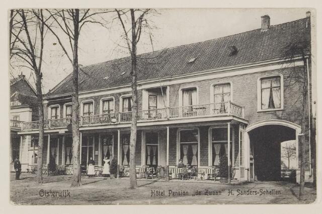074521 - De Lind. Hotel de Zwaan.