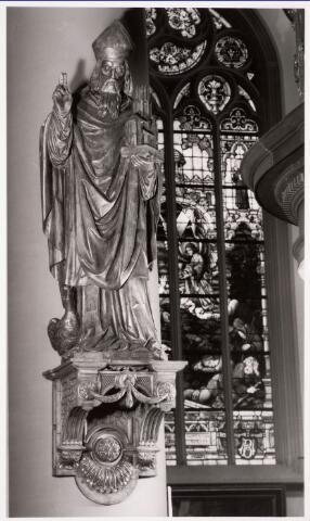 035914 - Interieur van de R.K. kerk van de H. Dionysius van het Heike thans Stadhuisplein