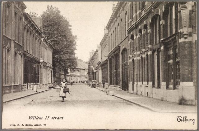 010297 - Willem II-straat tussen Heuvelstraat en Tuinstraat.