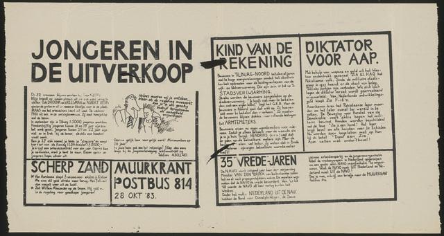 668_1983_135 - Muurkrant: Jongeren in de Uitverkoop
