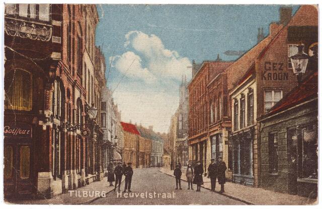 001103 - Heuvelstraat hoek Wille, II-straat, richting Heuvel.